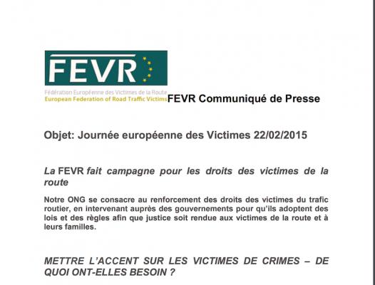 Journée Victimes de Violence