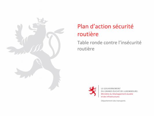 Stratégie Sécurité Routière