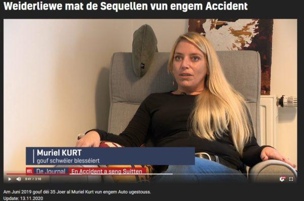 Weiderliewe mat de Sequellen vun engem Accident